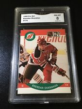1990 Pro Set #174 Brendan Shanahan New Jersey Devils NM-MT 8 PSA?