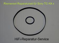 Sony TC-KA 6 ES Riemen-Set rubber belt Tape Deck