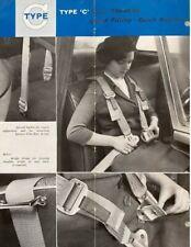 Securon Seat Belt 500//30 Volvo Vauxhall Audi Austin BMW Fiat Ford Hillman 14