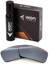 Polarized IKON Iridium Replacement Lenses For Oakley Gascan S SMALL Silver