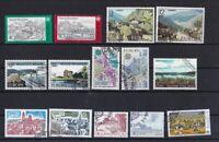Europa CEPT Landschaften gestempelt Jahrgang 1977  ohne MiNr. Block 20 Portugal