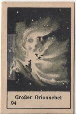 Great Orion Nubula Solar System Astronomy 1930s Card