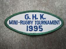 Mini Rugby 1995 Sport Cloth Patch Badge (L13K)