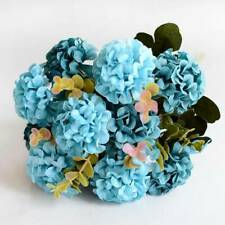 Silk Artificial Hydrangea Gerbera Flower Decoration Home Bouquet Wedding Decor