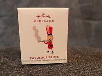 Hallmark 2019 Fabulous Flute Keepsake Toy Soldier Miniature Ornament Mini