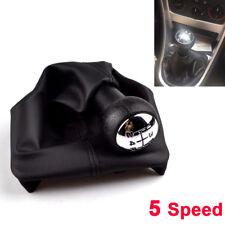 5 Speed 18mm Gear Shift Knob Gaiter Boot Frame For Peugeot 207 301 307 406 3008