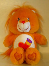 2004 CARE BEAR COUSINS - CR20304-Brave Heart Lion Plush Animal Toy - 13 inches