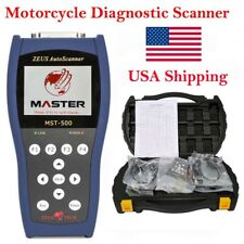 From USA MASTER MST-500 Motorcycle Diagnostic Tool Fault Code Reader Scanner