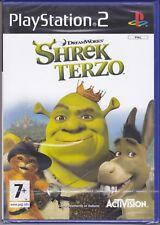 Ps2 PlayStation 2 «SHREK TERZO» nuovo sigillato italiano pal
