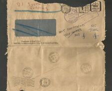 REDIRECT LETTER - READING & SHEFFIELD - MULTIPLE DATESTAMPS 1979