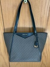 Michael Kors Whitney Large Logo Tote Bag Black