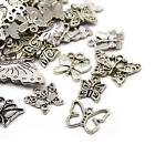 Tibetan Butterfly Charms Antique Silver 5-40mm Pack Of 30g