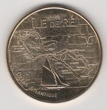 A 2011 TOKEN MEDAILLE MONNAIE DE PARIS -- 17 410 N°4 ILE DE RE ST MARTIN OCEAN