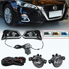 for Nissan Altima 2019-20 2021 DRL Daytime Running Lights & Halogen Bulb Set kit