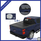 Fits 2019-2021 Chevy Silverado 1500 5.8FT Bed Tri-Fold Tonneau Cover Solid Hard