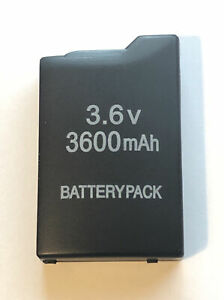 QUALITY - 3600mAh Replacement Battery Pack For Sony PSP 1000 PSP 1001