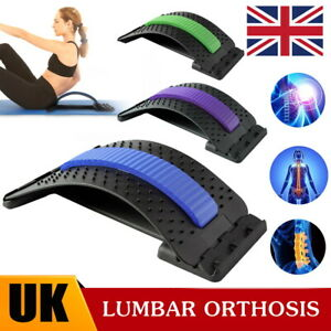 Massager Back Massage Stretcher Lower Lumbar Support Acupuncture Posture Relief