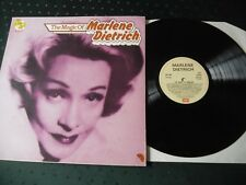 MARLENE DIETRICH LP - THE MAGIC OF MARLENE DIETRICH