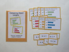 Teacher Made Math Center Learning Resource Game Measurement Comparing Lengths
