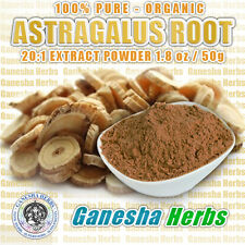 100% PURE - ORGANIC ASTRAGALUS ROOT HIGH POTENCY 20:1 EXTRACT POWDER 1.8 oz.