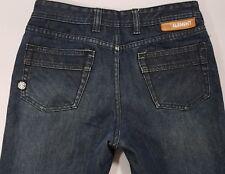 "Element Mens size 29 x 29"" L Long Leg Straight Fit Black Dark Wash Jeans"