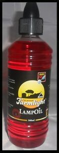 1L Red Paraffin Lamp Oil For Party Candles Wedding Table Design Clear Light