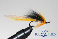 Salmon Fly,Cascade , Double Hook. (3-pack) Pick a size. Fly Fishing Fly