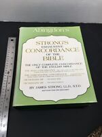 Abingdon's Strong's Exhaustive Concordance of the Bible, 37th printing, 1978, HC