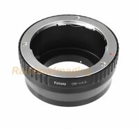 Olympus OM lens to Micro M4/3 Adapter Olympus OM-D E-M1 E-M5 E-M10 Mark II PEN-F