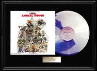 ANIMAL HOUSE SOUNDTRACK LP WHITE GOLD SILVER METALIZED PLATINUM TONE RECORD