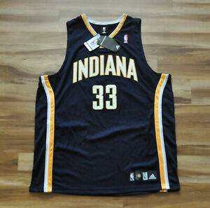 DANNY GRANGER INDIANA PACERS BLUE Adidas Authentic Jersey NBA 52 NWT SIGNED