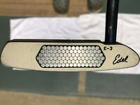 "Edel E-3 33"" Putter R/H Counterbalanced with Weight Set for Customization"