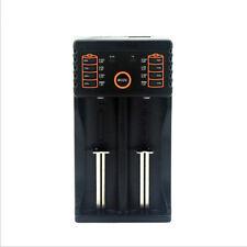 Hixon Q3 USB Smart Battery Charger for 18650 26650 RCR123A Li-ion &AA AAA Ni-MH