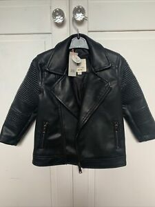 River Island Mini Leather Jacket