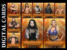 TOPPS WWE SLAM CARD TRADER FORGED DROP 2 BASE [SET 9 CARDS]