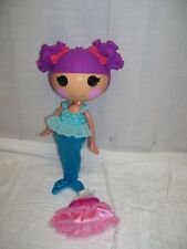 "LaLaLoopsy Coral Seashells Mermaid Doll Full Size 12"" ~~ 02-26 IN HEART 21511KIE"
