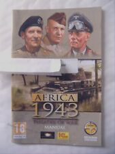 57139 Instruction Booklet - Africa 1943 Theatre Of War - PC (2010)