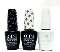OPI Nail GelColor Gel Polish 2 Base Coat + 2 Top Coat +2 Funny Bunny GC H22 6ct