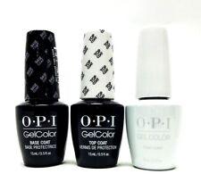 OPI Nail GelColor Gel Polish Base Coat + Top Coat + Funny Bunny GC H22 3ct Combo