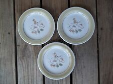 Vintage Country Day Stoneware Salad Plates Bread Impressions Daniele Set of 3