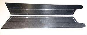 Carbon Fiber Door Sill Step Plates, Kick Plates Panels fit Ferrari 355 F355 348