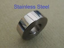 83-2689, BSA A65,A70 OIF MODELS, SWINGARM DISTANCE SPACER L/H, STAINLESS STEEL
