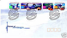 1999 The Nature of Australia FDC - Hervey Bay PMK
