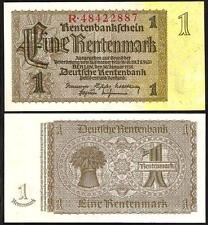 GERMANY 1 Rentenmark 1937 UNC P 173 b