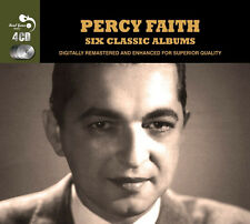 Percy Faith SIX (6) CLASSIC ALBUMS Exotic Strings MUSIC OF BRAZIL New 4 CD