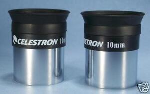 Celestron 10mm Light Weight Binoviewer Eyepieces For Binocular Viewer - Set of 2