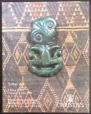Auction Catalogue Christie's London Tribal Art July 3, 1990 African Oceanic