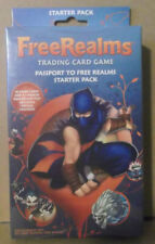 FreeRealms Collectible Trading Card Game Pack TCG CCG Sony Topps ***NEW SEALED