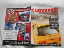 CORVETTE QUARTERLY-(MAGAZINE)-SPRING,1993-AN AMERICAN IN EUROPE