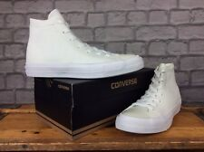 CONVERSE LADIES UK 5.5 EU 37.5 WHITE CTAS II FLYKNIT TRAINERS £84.99